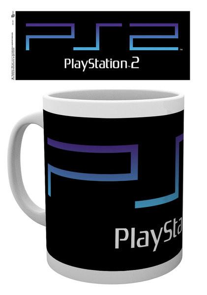 Taza Playstation - PS2 Logo