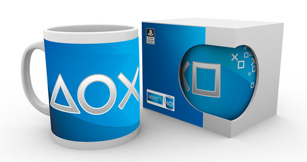 Taza  Playstation - Silver Buttons