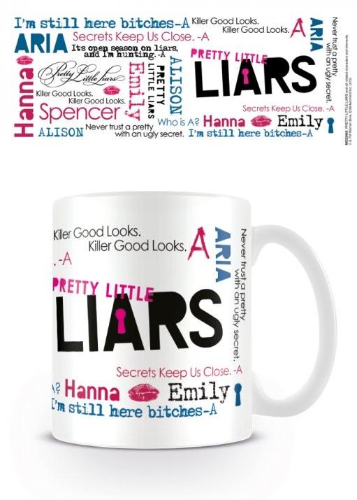 Taza Pretty Little Liars (Pequeñas mentirosas) - Montage | EuroPosters