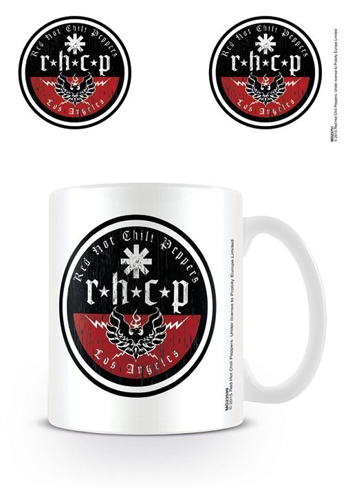 Taza  Red Hot Chili Peppers - Los Angeles