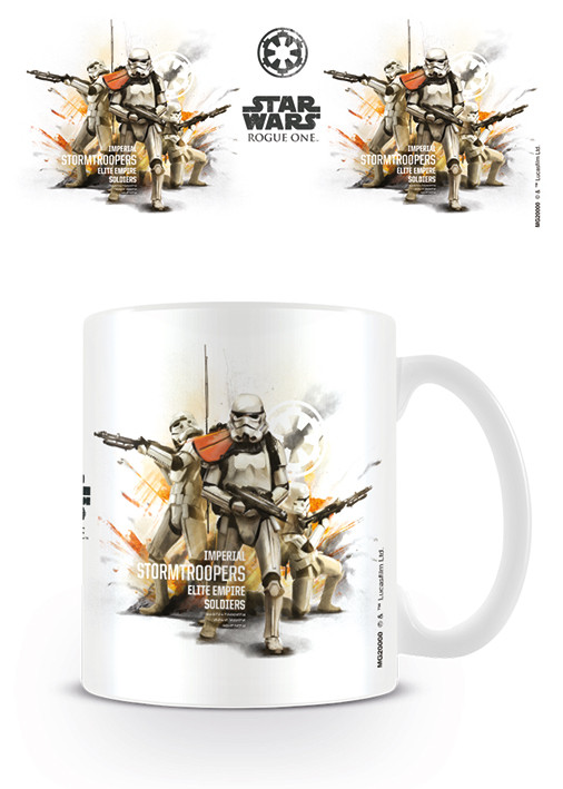 Taza Rogue One: Una Historia de Star Wars - Stormtrooper Profile