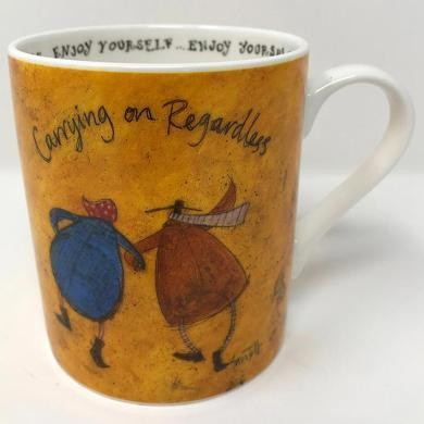 Taza  Sam Toft - Carrying on Regardless