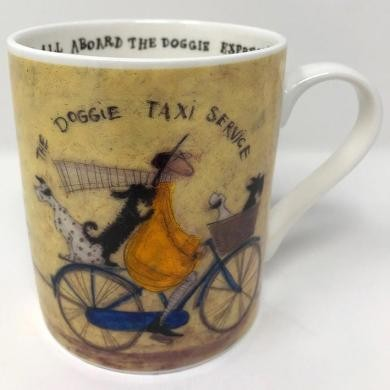 Taza  Sam Toft - The Doggie Taxi Service