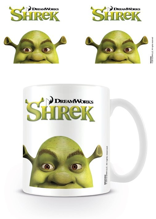 Taza Shrek - Face