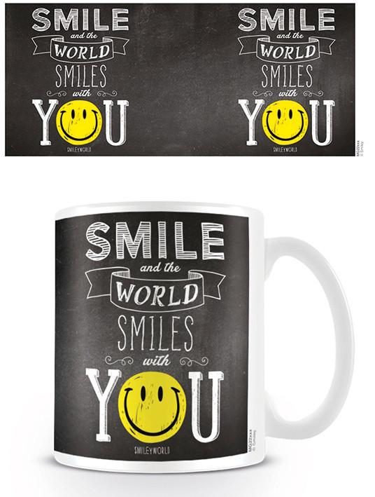 Taza  Smiley - World Smiles With You