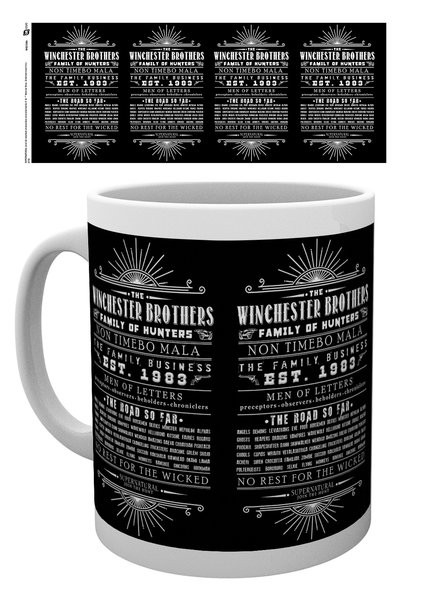 Taza Sobrenatural - Family Business