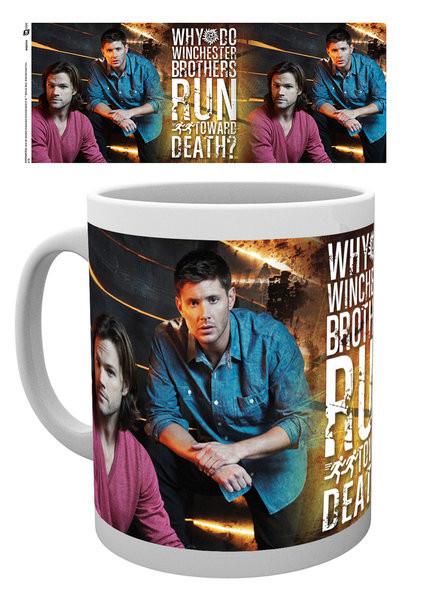 Taza Sobrenatural - Sam and Dean