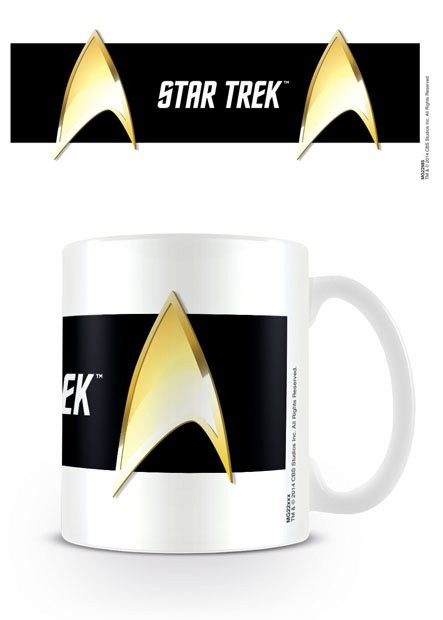 Taza  Star Trek - Insignia Black