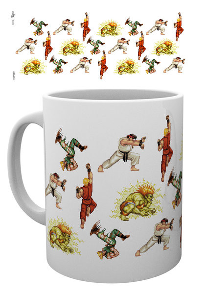 Taza Street Fighter - Sprites