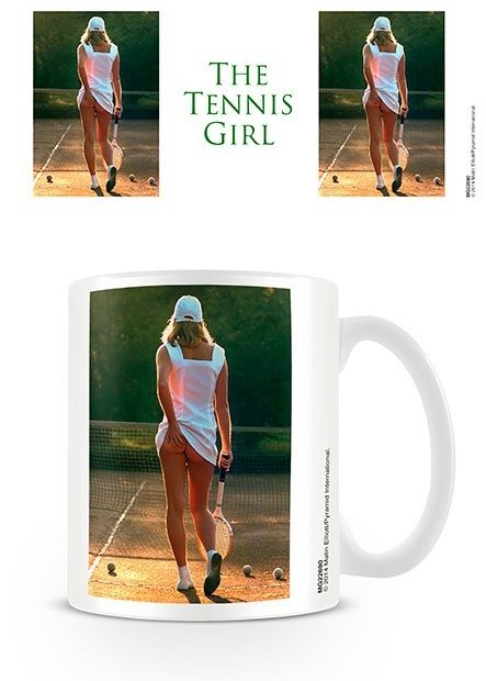 Taza  Tennis Girl