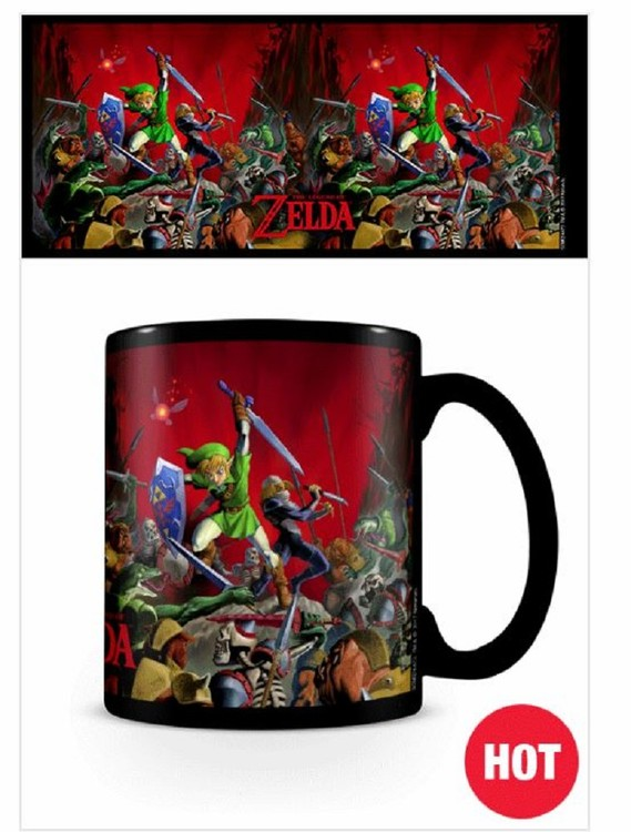Taza  The Legend Of Zelda - Battle