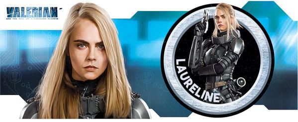Taza  Valerian y la ciudad de los mil planetas - Laureline