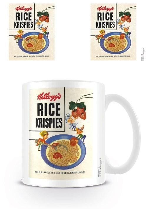 Taza  Vintage Kelloggs - Rice Krispies Strawberries