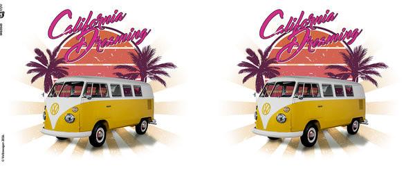 Taza  VW Camper - cali retro