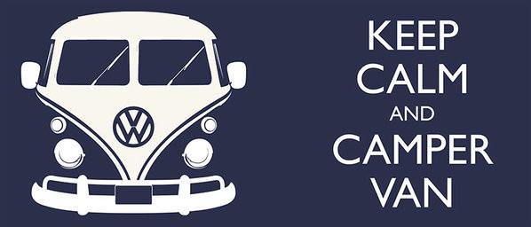 Taza  VW Volkswagen Camper - Keep Calm