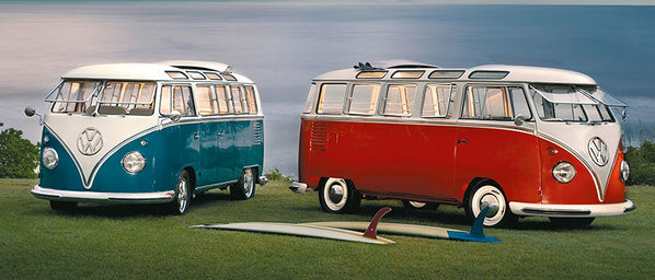 Taza VW Volkswagen Twin Kombis - Brendan Ray