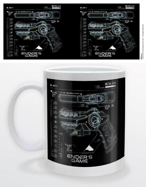 Tazze Ender's game - gun