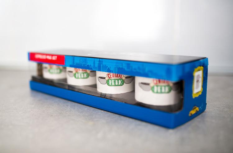 Tazze  Friends Central Perk - Set 4pcs Original Espresso Mugs