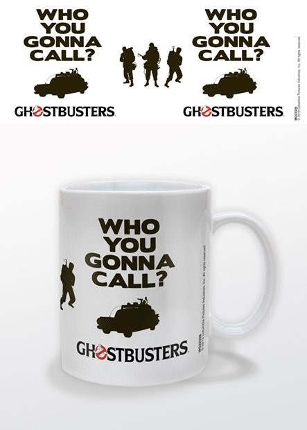 Tazze Ghostbusters: Acchiappafantasmi - Who You Gonna Call