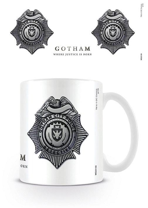Tazze Gotham - GCPD Badge