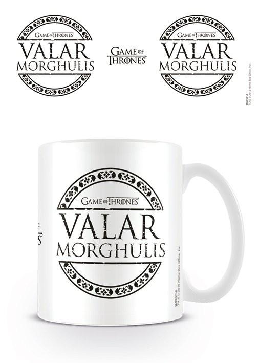 Tazze Il Trono di Spade - Valar Morghulis