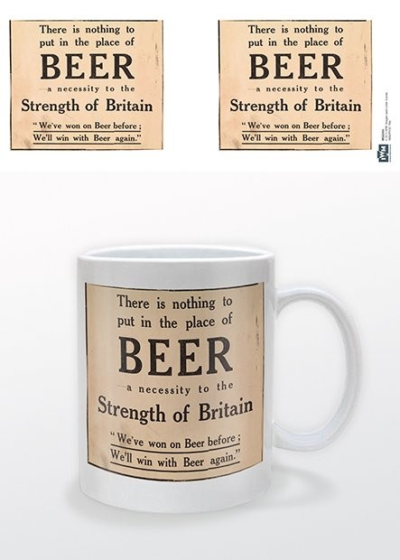 Tazze IWM - Beer Strength of Britain