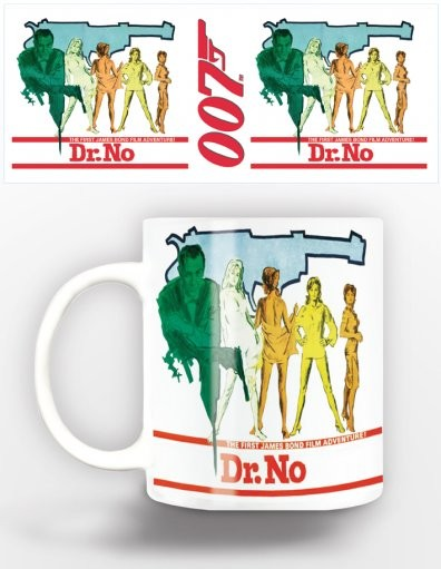 Tazze James Bond - dr.no