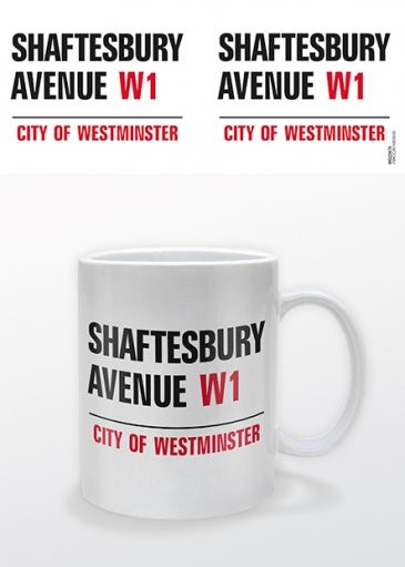 Tazze Londra - Shaftesbury Avenue