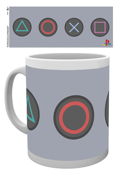 Tazze Playstation - Buttons
