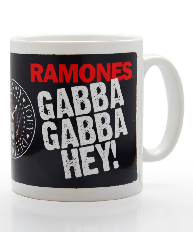 Tazze Ramones - gabba gabba hey