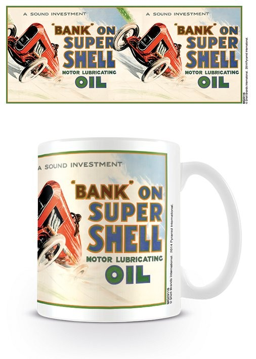 Tazze Shell - Bank On Shell