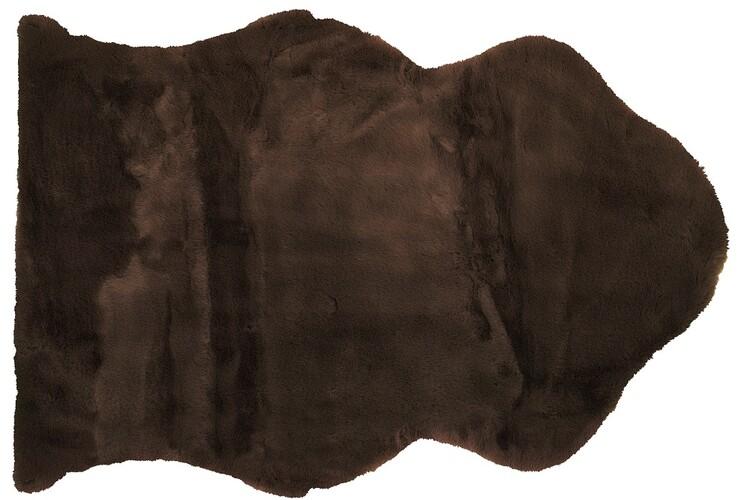 Tappeto Sheep - Dark Brown Tessile