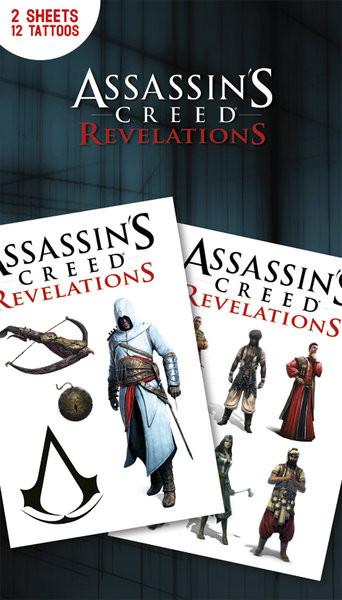 Tetování Assassin's Creed Relevations