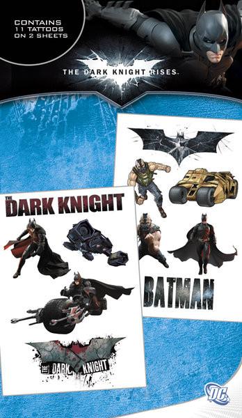 Tetování BATMAN DARK KNIGHT RISES