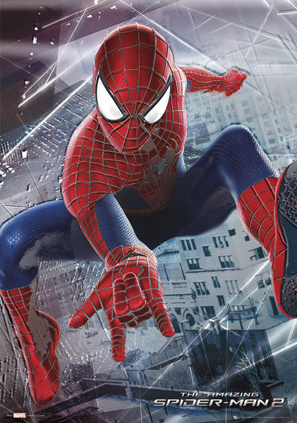 The Amazing Spider-Man 2: Rise of Electro - Webslinger Metallposter