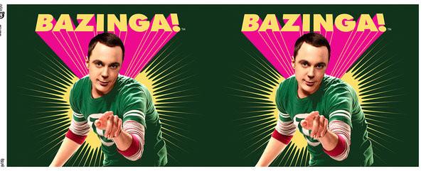 Kubek The Big Bang Theory (Teoria wielkiego podrywu) - Sheldon Bazinga