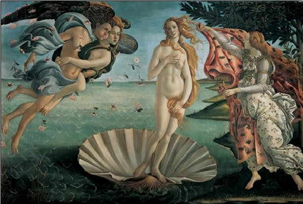 The Birth of Venus Festmény reprodukció