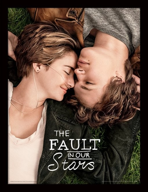 The Fault In Our Stars - One Sheet Tablou Înrămat cu Geam