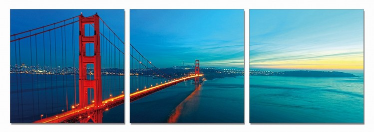 The Golden Gate Bridge Tableau Multi-Toiles