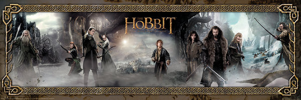THE HOBBIT: THE DESOLATION OF SMAUG - mist - плакат (poster)