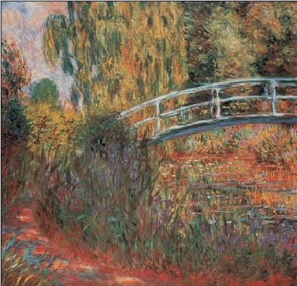 The Japanese Bridge - The Japanese Footbridge, 1899 Festmény reprodukció