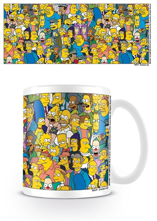Cană The Simpsons - Characters