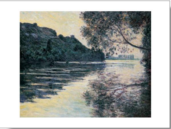 The Sun on The Seine Festmény reprodukció
