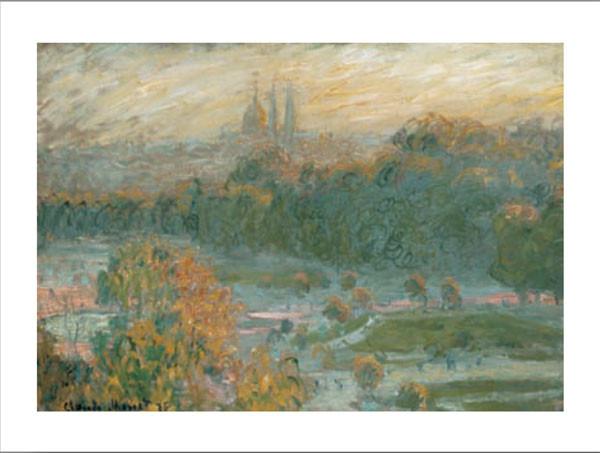 The Tuileries (study), 1875 Festmény reprodukció