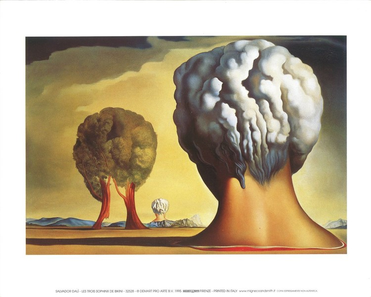 Three Sphinxes Of Bikini, 1947 Reproduction d'art