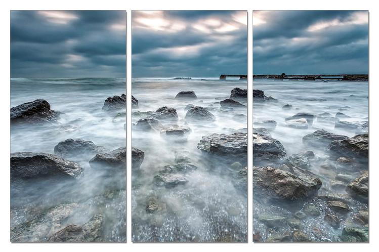 Cuadro  Tide in rocks