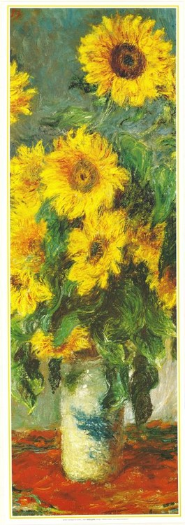 Bouquet of Sunflowers, 1880-81 Tisak