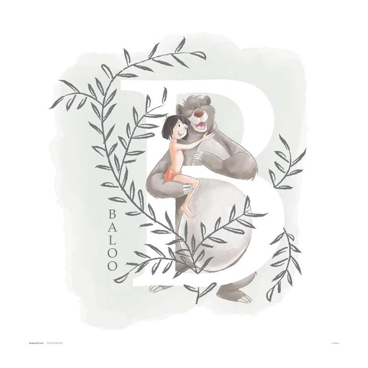 Disney - The Jungle Book Reprodukcija umjetnosti