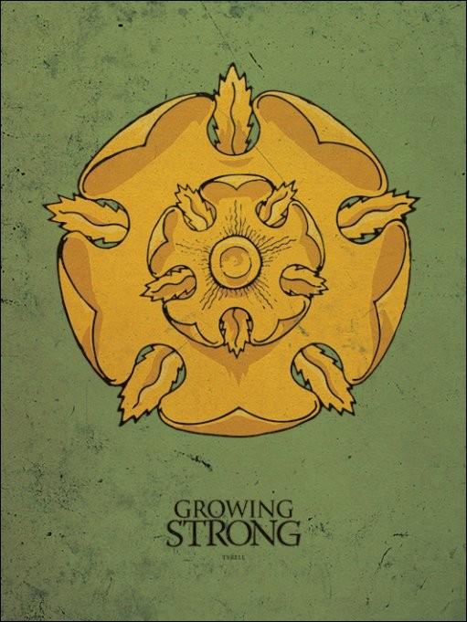 Game of Thrones - Tyrell Reprodukcija umjetnosti