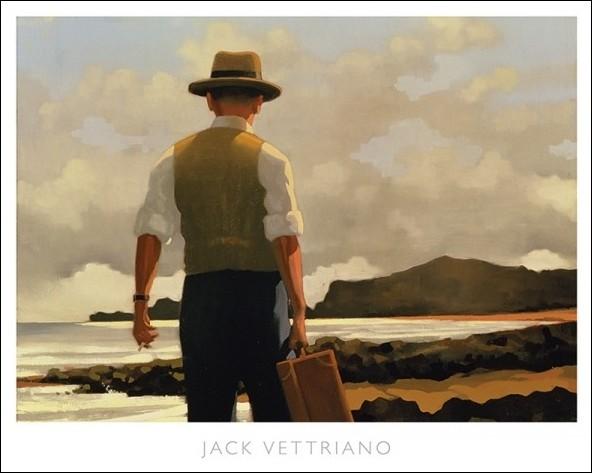 Jack Vettriano The Drifter Poster Reprodukcija Umjetnosti Plakat Poster Slika Na Europosterihr